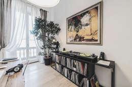 Projekty,  Domowe biuro i gabinet zaprojektowane przez MODO Architettura