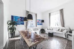 57125 House: Soggiorno in stile in stile Moderno di MODO Architettura