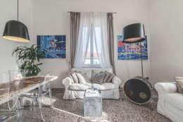 Projekty,  Salon zaprojektowane przez MODO Architettura