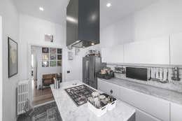 Projekty,  Kuchnia zaprojektowane przez MODO Architettura