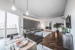 minimalistic Living room by MODO Architettura