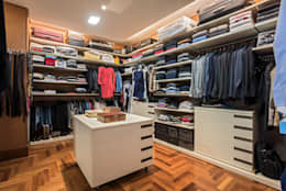 modern Dressing room by Andréa Buratto Arquitetura & Decoração