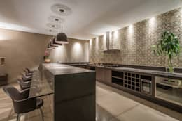 Cocinas de estilo moderno por Andréa Buratto Arquitetura & Decoração