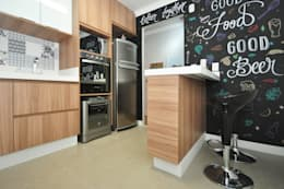 eclectic Kitchen by Condecorar Arquitetura e Interiores
