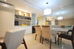 غرفة السفرة تنفيذ Condecorar Arquitetura e Interiores