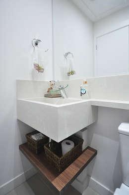 حمام تنفيذ Condecorar Arquitetura e Interiores
