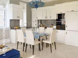 КП КЕМБРИДЖ, СОВРЕМЕННАЯ КЛАССИКА: Кухни в . Автор – Loft&Home