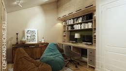 АКАДЕМИЯ ПАРК, 155, СОВРЕМЕННАЯ КЛАССИКА: Рабочие кабинеты в . Автор – Loft&Home