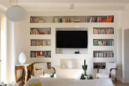 modern Living room by redesign lab