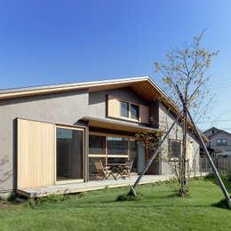 房子 by 磯村建築設計事務所