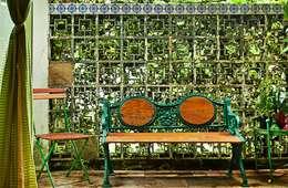 庭院 by Espaço Tania Chueke