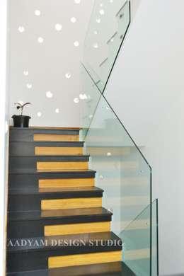 الممر والمدخل تنفيذ Aadyam Design Studio