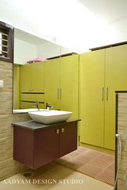 Toilet in kids room: minimalistic Bathroom by Aadyam Design Studio