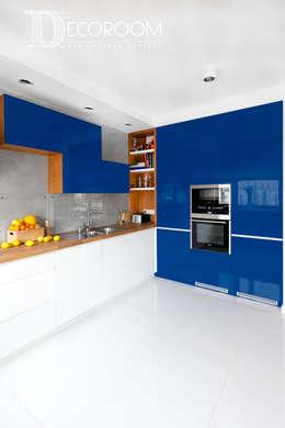 Postaw na kolor : styl , w kategorii Kuchnia zaprojektowany przez Decoroom