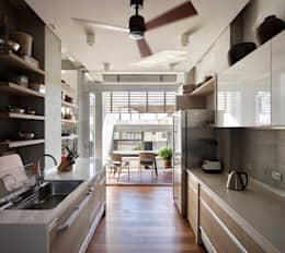 Кухни в . Автор – 前置建築 Preposition Architecture