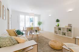 scandinavian Living room by Home Staging & Dintorni
