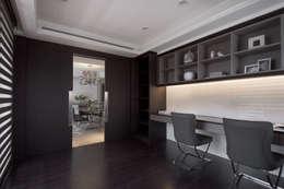靜,器:  書房/辦公室 by 思為設計 SW Design