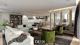modern Living room by DUIN INTERIOR
