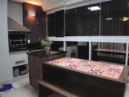 Balcones y terrazas de estilo  por studio luchetti