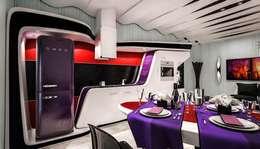 Cocinas de estilo moderno por Denis Confalonieri - Interiors & Architecture