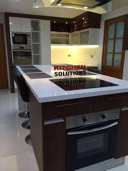cocinas isla cocinas de estilo moderno por kitchen solutions - Cocinas Con Isla