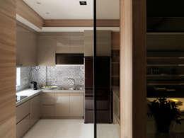 مطبخ تنفيذ 白金里居  空間設計