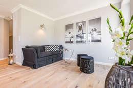 غرفة المعيشة تنفيذ Home Staging Sylt GmbH