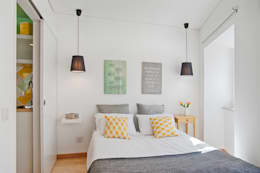 scandinavian Bedroom by menta, creative architecture
