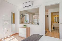 Dormitorios de estilo  por menta, creative architecture