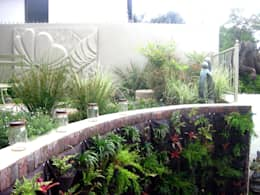 Working with Small Gardens: modern Garden by Young Landscape Design Studio