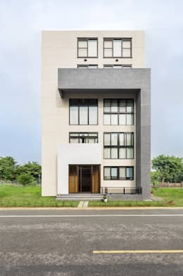 綠森活 Living in a Green Forest: 住宅 by Glocal Architecture Office (G.A.O) 吳宗憲建築師事務所/安藤國際室內裝修工程有限公司
