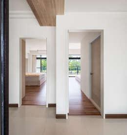 Glocal Architecture Office (G.A.O) 吳宗憲建築師事務所/安藤國際室內裝修工程有限公司의 침실