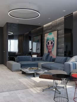 Phòng khách by Interior designers Pavel and Svetlana Alekseeva
