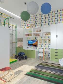 Phòng trẻ em by Interior designers Pavel and Svetlana Alekseeva