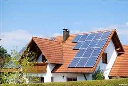 Casas de estilo moderno por Energías Sustentables Soleon