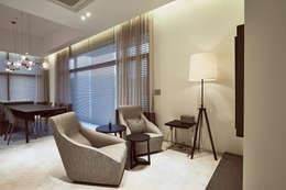 Projekty,  Salon zaprojektowane przez Design Anche