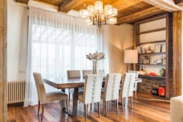 eclectic Dining room by ARK BURO