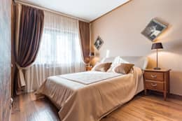 Гостевая спальня 1 этаж: Спальни в . Автор – ARK BURO