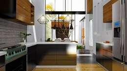 廚房 by Alan Rangel Arquitecto