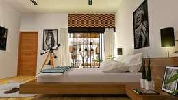 臥室 by Alan Rangel Arquitecto