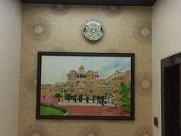 Wall Painting:  Corridor & hallway by Nabh Design & Associates