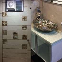 Bathroom Design : minimalistic Bathroom by Nabh Design & Associates