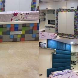 Daughter Bedroom : minimalistic Bedroom by Nabh Design & Associates