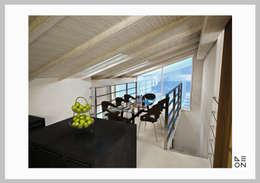 غرفة السفرة تنفيذ Aeon Studio Firenze (architecture and design)