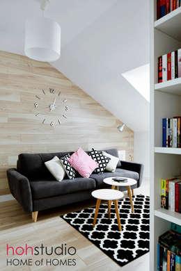 WaWer Love: styl , w kategorii Domowe biuro i gabinet zaprojektowany przez HoH studio