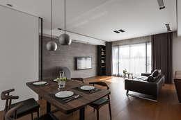 廚房:  廚房 by 一水一木設計工作室