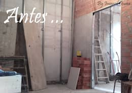 """LOFT """"txingurri 12"""" _ 2016: Casas de estilo ecléctico de POLITA proyectos y reformas"""