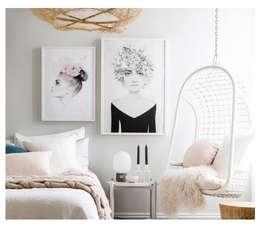 Proyectos de Interiores: Hogar de estilo  por Cinza Design  Studio