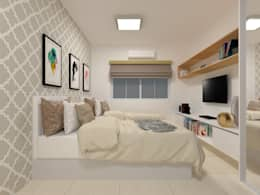 Dormitorios de estilo rural por Atelie 3 Arquitetura