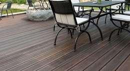Deck Bambú : Terrazas de estilo  por MARMI ST ANGELO